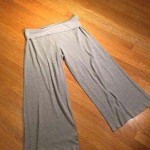 Victoria's Secret thermal wide leg lounge pants